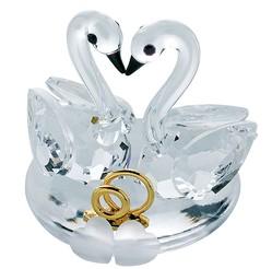Хрустальный сувенир Свадебный - H107801