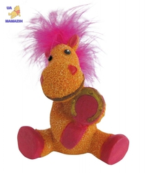 Сувенир HORSE,  11см, оранжевый