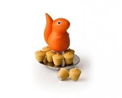 Магниты с подставкой squirrel 8 шт. оранжевый (896477)