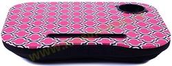 Столик для ноутбука с подушкой Узор