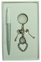 Подарочный набор Ключ к сердцу 17*11*3см