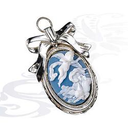 Медальон из серебра Ангел хранитель 0040816/A