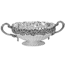 Ваза для фруктов из серебра 30-25256B