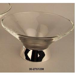 Ваза для фруктов из серебра и хрусталя 30-2757230