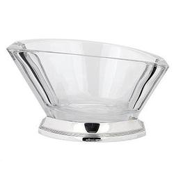 Ваза для фруктов из серебра и хрусталя 30-27555